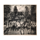 Tennis, 1920 Giclee-trykk av George Wesley Bellows