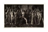 Barricade, 1918 Reproduction procédé giclée par George Wesley Bellows