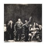Introducing John L. Sullivan, 1916 Giclée-tryk af George Wesley Bellows