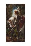 Sir Galahad Giclee Print by George Frederick Watts