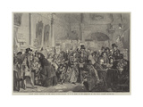 Infant Orphan Election at the London Tavern, Polling Giclee Print by George Elgar Hicks