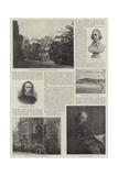 Alfred, Baron Tennyson, Poet Laureate Reproduction procédé giclée par George Frederick Watts