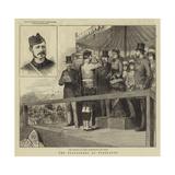 The Volunteers at Wimbledon Reproduction procédé giclée par Godefroy Durand