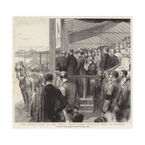 The Queen's Visit to the Royal Agricultural Society's Show at Windsor Reproduction procédé giclée par Godefroy Durand