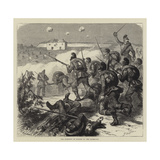 The Storming of Bicetre by the Bavarians Reproduction procédé giclée par Godefroy Durand