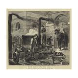 Horse Guards under Fire Again Reproduction procédé giclée par Godefroy Durand