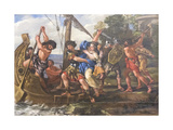 The Abduction of Helen, 1631-43 Giclee Print by Giovanni Francesco Romanelli