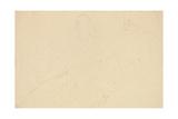 Reclining Nudes; Aufgestutzt Liegende Giclée-Druck von Gustav Klimt