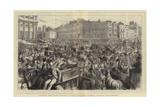 London Sketches, Regent Circus, Oxford Street, During the Season Reproduction procédé giclée par Godefroy Durand