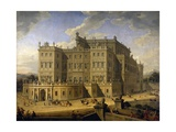 View of the Castle of Rivoli, 1723 Reproduction procédé giclée par Giovanni Paolo Pannini