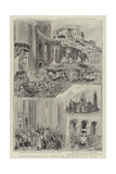 Inauguration of the Church of the Sacre Coeur, Paris Giclee Print by Henri Lanos
