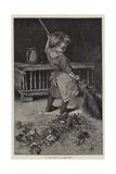 A Clean Sweep Reproduction procédé giclée par Hablot Knight Browne