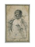 Hercules, 1555 - 1666 Lámina giclée por  Guercino