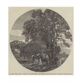 Cart Lodge, Sussex Reproduction procédé giclée par Harrison William Weir