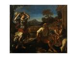 Erminia and the Shepherds, 1648 Lámina giclée por  Guercino