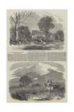 Her Majesty's Stag-Hounds at Hillingdon Reproduction procédé giclée par Harrison William Weir
