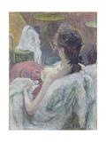 The Model Resting, 1889 Lámina giclée por Henri de Toulouse-Lautrec