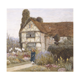 Old Manor House Giclee Print by Helen Allingham