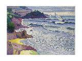 Undulating Sea, C.1903 Giclee Print by Henri-Edmond Cross