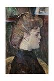 The Painter's Model Helene Vary Lámina giclée por Henri de Toulouse-Lautrec