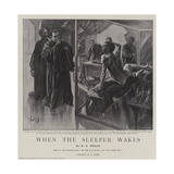 When the Sleeper Wakes Giclee Print by Henri Lanos