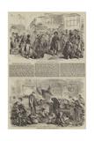 The Martyrs of the Naval Review Reproduction procédé giclée par Hablot Knight Browne