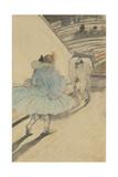 At the Circus: Entering the Ring, 1899 (Black and Coloured Pencils on Paper) Lámina giclée por Henri de Toulouse-Lautrec