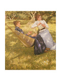 In the Orchard, 1893 Giclee Print by Henry Herbert La Thangue