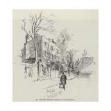 Mr William Morris's House at Hammersmith Giclee Print by Herbert Railton