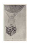 An Experiment to Test the Sustaining Power of Andree's Balloon Reproduction procédé giclée par Henry Charles Seppings Wright