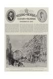 The Wedding of Nicholas II, Czar of Russia Giclee Print by Herbert Railton