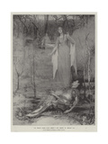 La Belle Dame Sans Merci Giclee Print by Henry Meynell Rheam