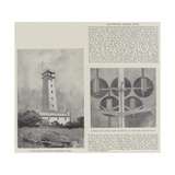 Lighthouse Burned Down Reproduction procédé giclée par Henry Charles Seppings Wright