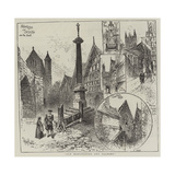 Old Manchester and Salford Giclee Print by Herbert Railton