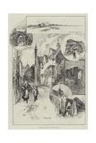 Rambling Sketches, Rye and Winchelsea Giclee Print by Herbert Railton