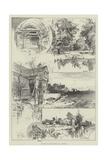 Sketches of Little Moreton Hall, Cheshire Giclee Print by Herbert Railton