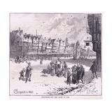 Cheapside Ad 1660 Giclee Print by Herbert Railton