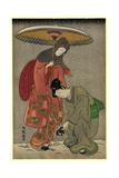 Geta No Yukitori Giclee Print by Isoda Koryusai
