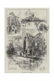 Rambling Sketches, Wells, Somerset Giclee Print by Herbert Railton