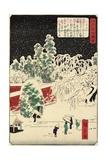 Nezu, November 1862 Giclee Print by Hiroshige II