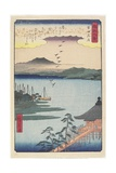 Geese Homing at Katada, March 1857 Giclee Print by Hiroshige II