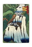 One Humisty Fall of Nikko, October 1859 Giclee Print by Hiroshige II