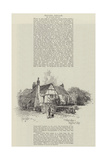 Milton's Cottage at Chalfont St Giles Giclee Print by Herbert Railton