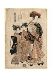 Yotsumeya Uchi Kinshu Giclee Print by Isoda Koryusai