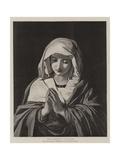 The Madonna in Prayer Giclée-vedos tekijänä Il Sassoferrato