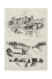 Sketches of Sandringham Giclee Print by Herbert Railton