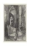 The North Ambulatory, Looking East Giclee Print by Herbert Railton