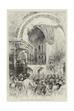 Reopening of the North Transept of St Bartholomew's Church by the Prince of Wales Giclee Print by Herbert Railton