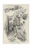 Rambling Sketches, Windsor and the Neighbourhood Giclee Print by Herbert Railton
