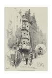 A Bit of Old London, Recently Demolished Giclee Print by Herbert Railton